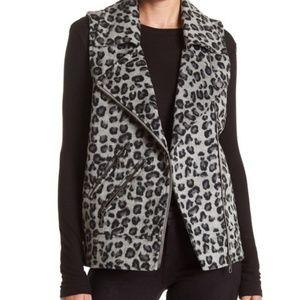 Jolt 🐆 leopard print moto vest